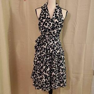 Kasper Tie- Waist Shirt Dress